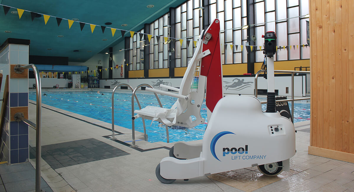 The Panda Pod Pool Lift at Sport Sheffield