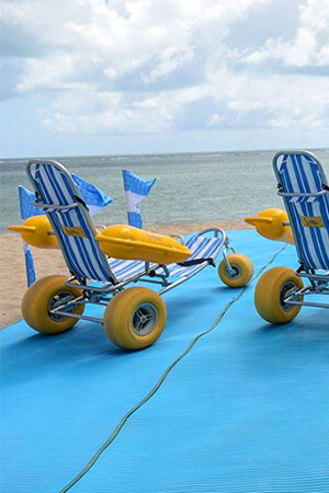 Pool Side Wheelchairs
