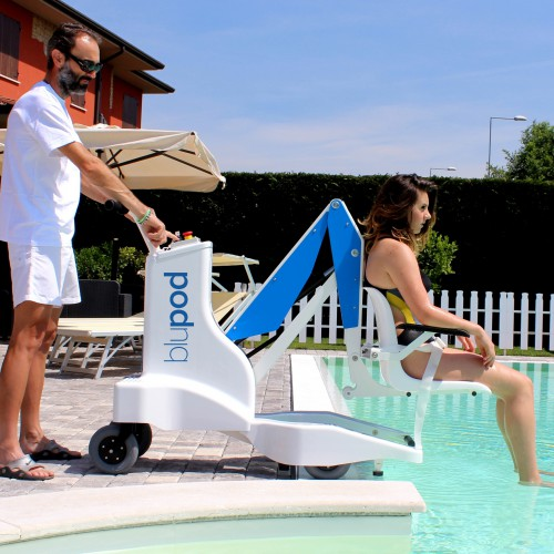 Blu-Pod Portable Pool Lift