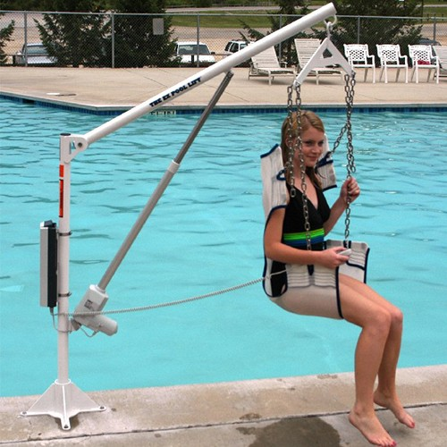 Power EZ2 Fixed Pool Lift